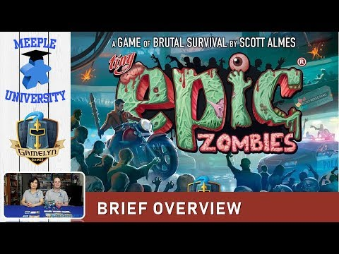 Tiny Epic Zombies Board Game – What to Expect, Brief Overview