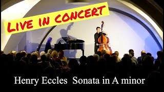 New Recording of Eccles Sonata