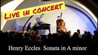 New Recording of Eccles Sonata