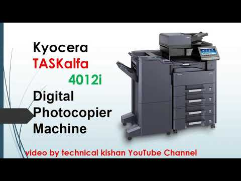 Kyocera 4012i multifunction printer