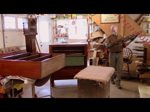Rescuing an Antique Butler's Chest & Bookcase - Thomas Johnson Antique Furniture Restoration
