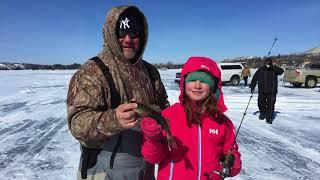 Рыбалка в канаде зимняя