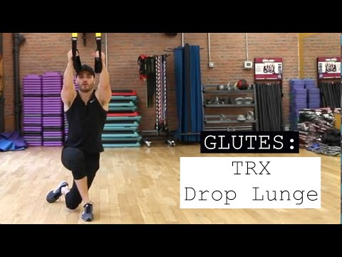 TRX Drop Lunges