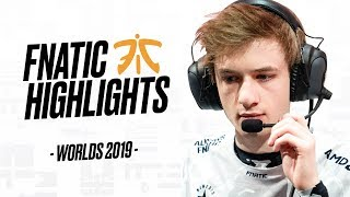 Worlds 2019 : le Highlights spécial Fnatic