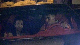 EXCLUSIVE : Kourtney Kardashian and boyfriend Younes Benjima come out of Gotha club in Cannes
