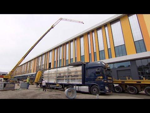 Geautomatiseerd nationaal distributiecentrum Jumbo in Nieuwegein officieel geopend