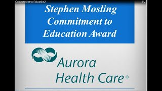 2018 Stephen Mosling Commitment to Education Award