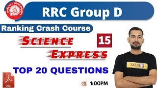 CLASS -15|| Delhi Police/RRC Group D || Science Express || BY Ajay sir|| TOP 20 QUESTIONS