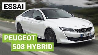 Essai PEUGEOT 508 Hybrid : 225ch dans la tempête !