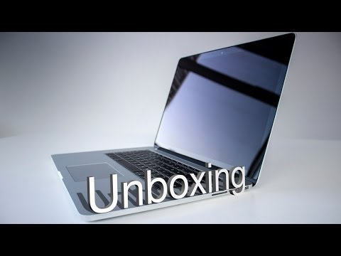 New Retina MacBook Pro 15 inch Haswell Late 2013 - Unboxing & First Look