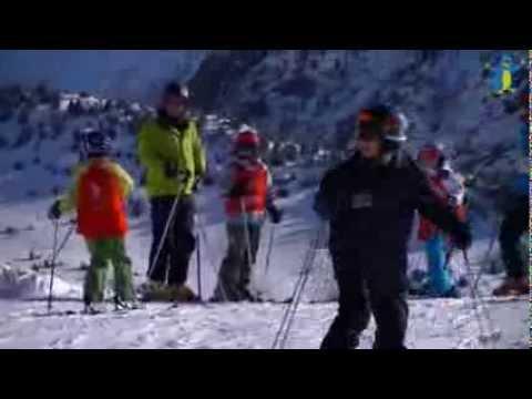 Un mercredi d'hiver à l'Alpe du Grand Serre