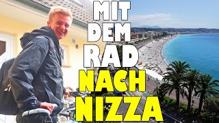 Mit dem Fahrrad nach Nizza