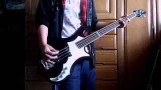 the GazettE Cassis bass 弾いてみた