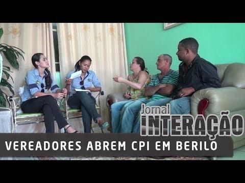 Vereadores abrem CPI em Berilo   23/03/18