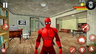 Spider Ninja Superhero Simulator - Open World Game With City Brawl - Android Gameplay