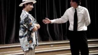 Me and Robert doing Who's on 1st ?