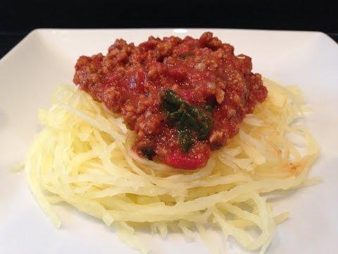 Video How to Make Spaghetti Squash Pasta - HASfit Making Spaghetti Squash Recipes - Recipe