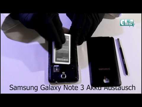 Samsung Galaxy Note 3 Akku Austausch