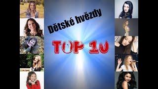 TOP 10 - Dětské hvězdy - zpěvačky