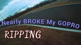 I Nearly BROKE My GOPRO - FPV - Freestyle