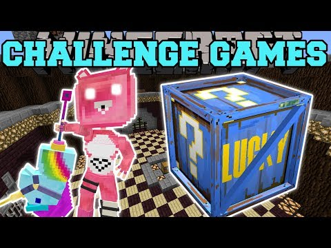 , title : 'Minecraft: CUDDLE TEAM LEADER CHALLENGE GAMES - Lucky Block Mod - Modded Mini-Game'