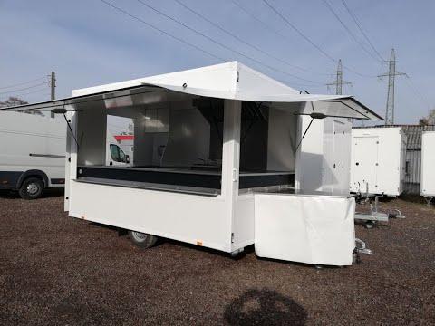 BANNERT vending trailer IMBISS, Food Truck, Handlowa, Gastronomiczna
