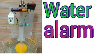 How to Make a Water Level indicator Alarm at home