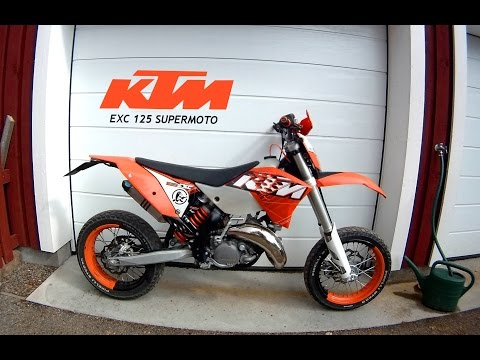 ktm 125 exc videos review road test oto. Black Bedroom Furniture Sets. Home Design Ideas