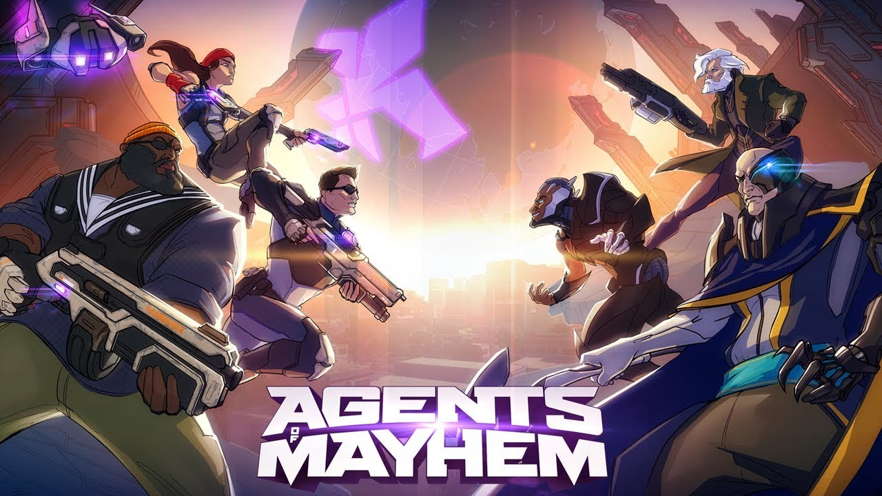 Trailer di Agents of Mayhem