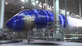 Painting the ANA Star Wars 787-9