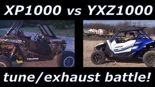 YXZ1000R Stock Exhaust vs Weller Racing Exhaust with Test