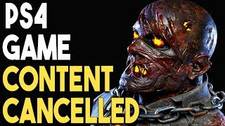 PS4 Game Content CANCELLED and GREAT Physical PS4 Game Deals!
