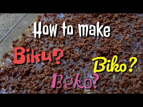 How to make Biko? Filipino Kakanin
