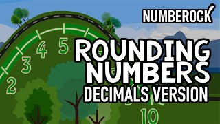 Rounding Decimals Song | With Rounding Of Whole Numbers