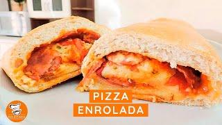 #64 - Como Fazer Pizza Enrolada