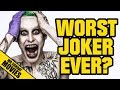 SUICIDE SQUAD Jared Leto Worst Joker Ever YouTube