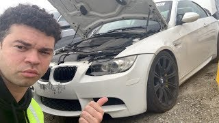 I found my stolen BMW M3 in an auction junkyard..