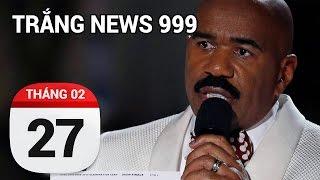 Trao nhầm Oscar có sao...| TRẮNG NEWS 999 | 27/02/2017