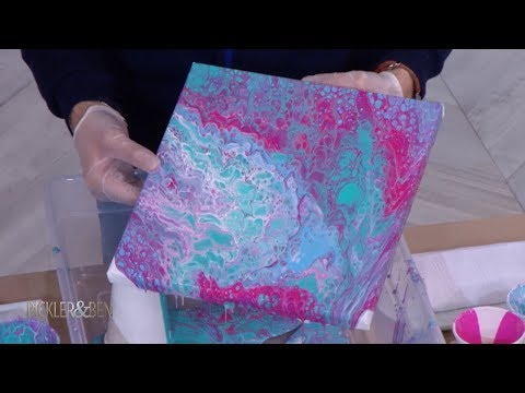 Fluid Art: Learn This New DIY Painting Trend!  - Pickler & Ben