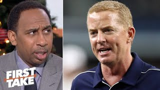 Stephen A. doesn't want to hear Jason Garrett's excuses for benching Amari Cooper   First Take