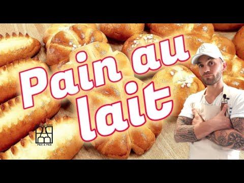 Boulangerie Pas à Pas N°18: Les pains au lait. CAP boulanger
