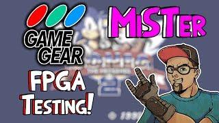 Sega Game Gear FPGA Gaming MiSTer Testing & Core Update News!