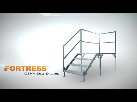 Thumbnail of the Product Overview - FORTRESS® OSHA Stair System | EZ-ACCESS video