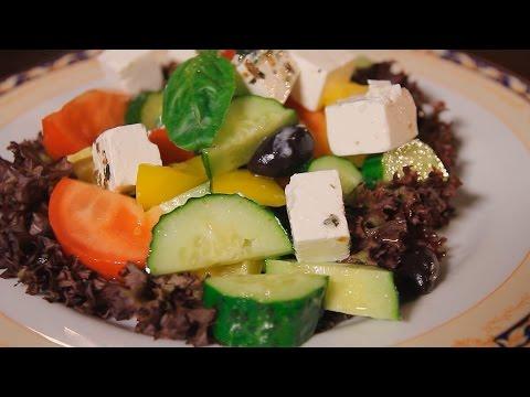 Греческий салат. Рецепт от шеф-повара.