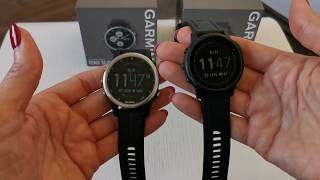 Garmin Fenix 6s PRO vs. Garmin Fenix 5s plus kurze Gegenüberstellung und Vergleich