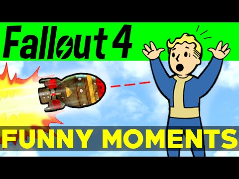 Fallout 4 Funny Moments - EP.2 (FO4 Funny Moments, Mods, Fails, Kills, Fallout 4 Funtage)