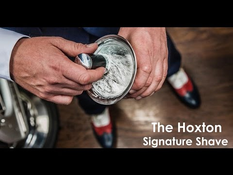 BBA – The Hoxton Signature Shave