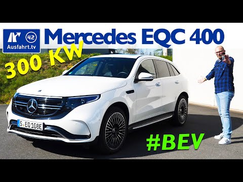 2020 Mercedes-Benz EQC 400 4MATIC N293 - Kaufberatung, Test deutsch, Review, Fahrbericht Ausfahrt.tv