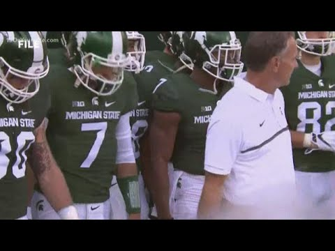 Former MSU football staffer claims he was wrongly accused of covering up for athletes in sexual assa