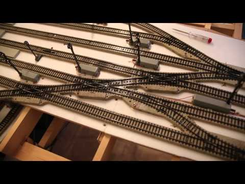 Essai 7 Fim Construction train Märklin M + MS1
